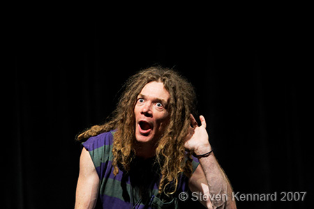 Rick Macnab at the Evergreen Theatre
