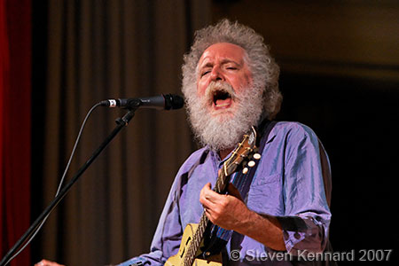 Ken Whiteley at Deep Roots Music Festival, Wolfville, 2007