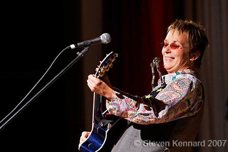 Mary Gauthier at Deep Roots Music Festival, Wolfville, 2007