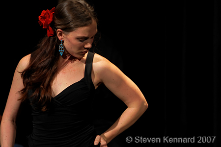 Megan Matheson of El Viento Flamenco
