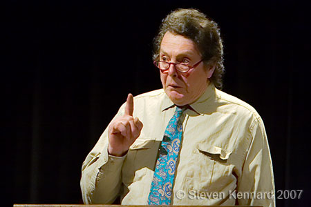 Richard Donat reads Stephen Leacock at the Evergreen Theatre