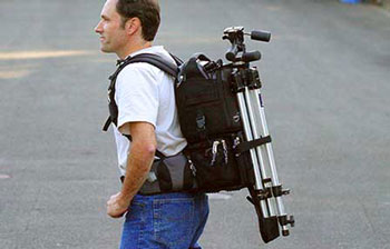 Think Tank Rotation 360° Back pack with tripod