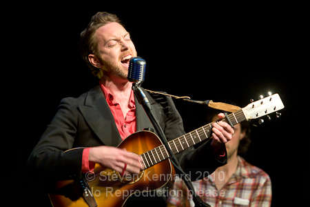 Ryan MacGrath at the Evergreen Theatre