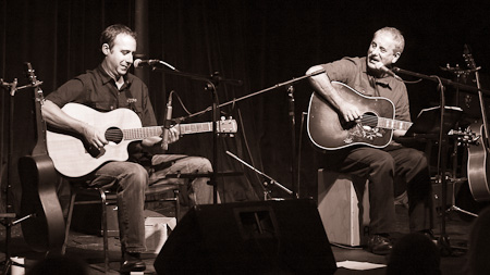 Graham Breeze and Toby Wilson at the Evergreen Theatre 2011